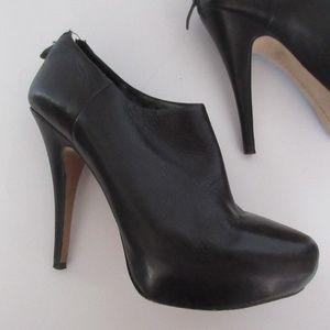 Vince Camuto Stilletos Heels Black Ankle Boots